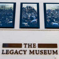 Entrance to the Legacy Museum